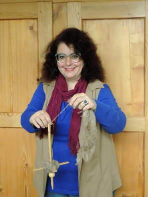 Spinnunterricht mit Martina Weise